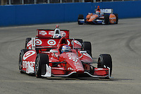 Scott Dixon, Milwaukee IndyFest, Milwaukee Mile, West Allis, WI USA 06/15/13