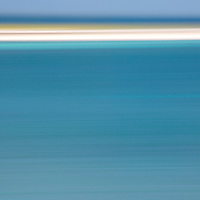 The beautiful turquoise and azure Caribbean waters of Portland Bight Protected Area lap white sand beaches