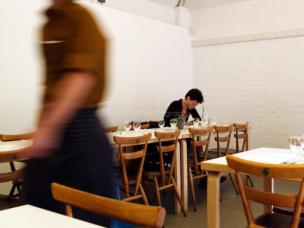 Customers at La Rochelle Canteen, London