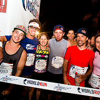 SUNRISE, FL  -- May 4, 2014 -- Thousands of runners compete in the Wings for Life World Run in Sunrise, Florida.