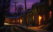 Oella, Ave. dusk in Oella, Maryland.