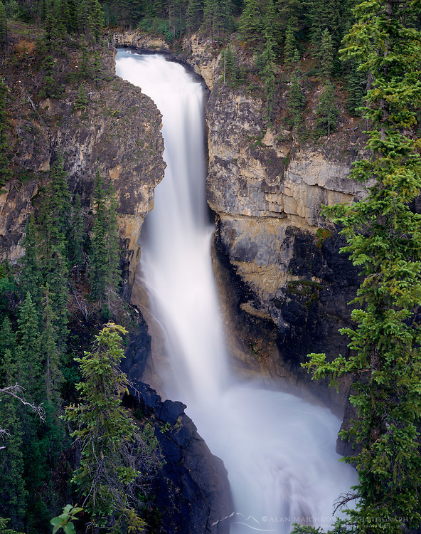 Falls of the Pool Mount Robson Provincial Park British Columbia Canada
