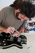Electric Guitar repair workshop
