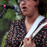 Alabama Shakes perform at SXSJ on S. Congress on March 16, 2012 during SXSW 2012..Lead singer Brittany Howard...Photo Credit ; Rahav 'Iggy' Segev for The Boston Globe