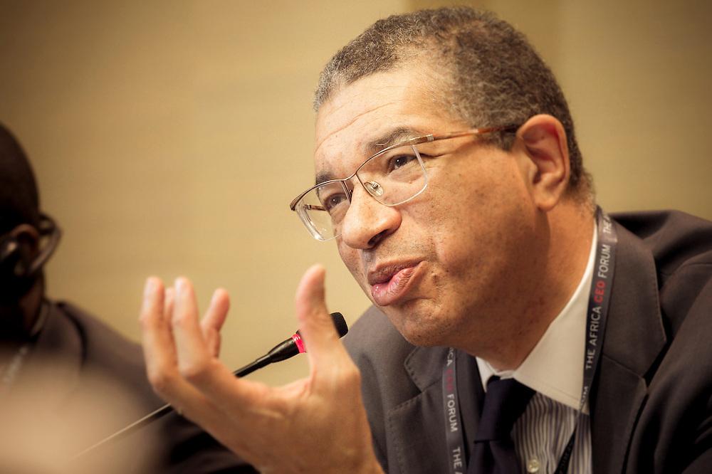 lors du Groupe de travail Public/Privé, Matinée du 17 mars 2015, Africa CEO Forum 2015