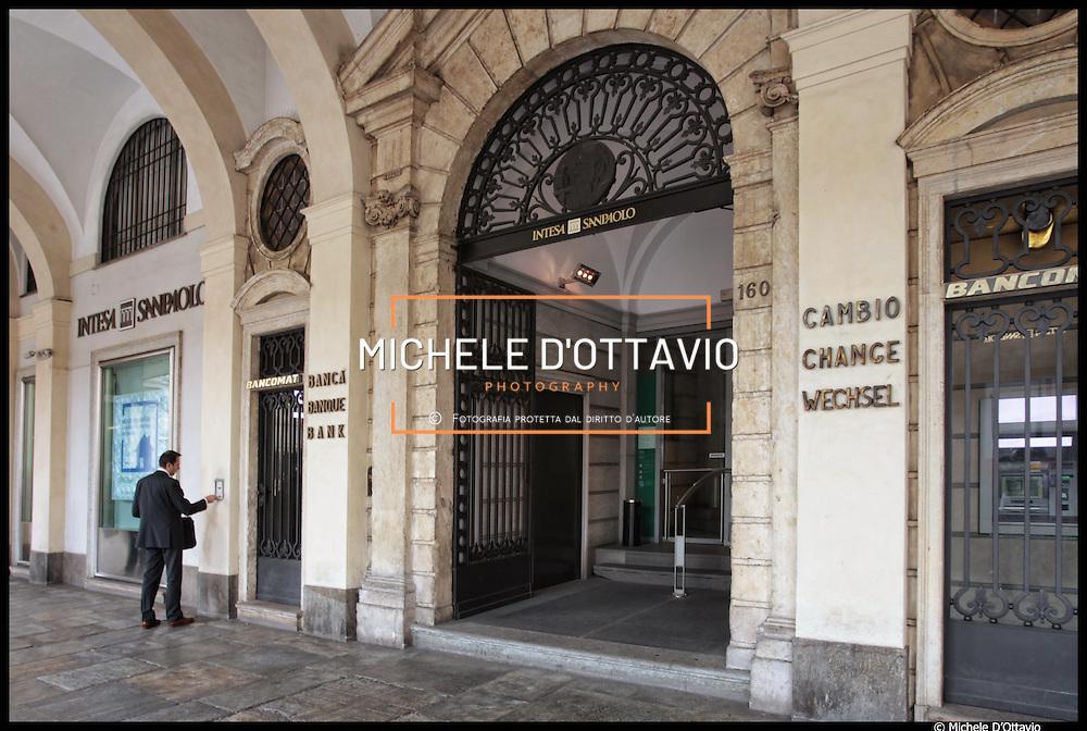 Intesa Sanpaolo S.p.A. Sede Legale nel palazzo Turinetti di Piazza San Carlo a Torino