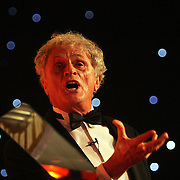 Photo © Joel Chant.The Times Higher awards 2007 at Grosvenor House, London.Sociologist and broadcaster Professor Laurie Taylor