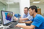 CHINA / SUzhou <br /> <br /> (GF) George Fischer Automotive (Suzhou) Research Room <br /> <br /> <br /> &copy; Daniele Mattioli for GF Germany