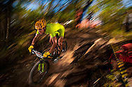 Rio de Janeiro, Brazil, July 14 of 2007:   Mountain bike final at Rio's Panamerican Games.  (Photo: Caio Guatelli)