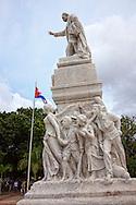 Jose Marti Monument in Parque Central, Havana Vieja, Cuba.