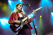 Ellie Rowsell/Wolf Alice performing live at the Fox Theater concert venue in Oakland, CA on April 18, 2016