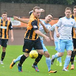 Berwick's Allan Walker leads the chase for the ball against Forfar.....(c) BILLY WHITE | SportPix.org.uk