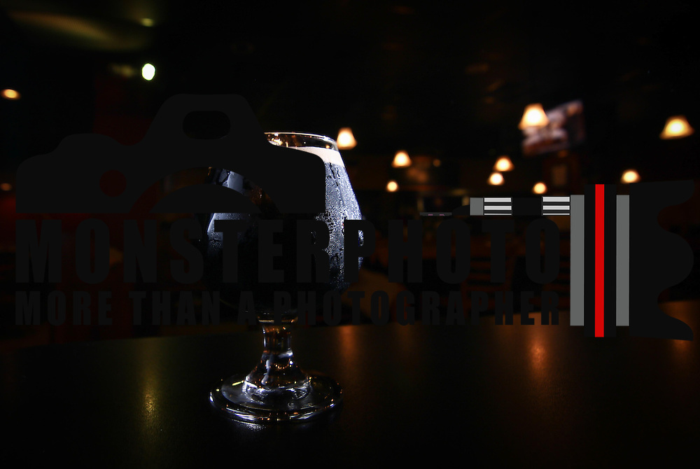 Photo of a 12oz glass of Abre Los Ojos, A Zossimov Russian Imperial Stout aged on coffee & Vanilla beans served only at Argilla Brewing Company Saturday, May 9, 2015, at Argilla Brewing Company in Newark, Delaware.