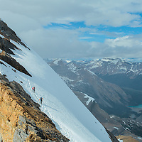 Mountaineering Wapta Icefield Alpine Climbing - St Nicholas