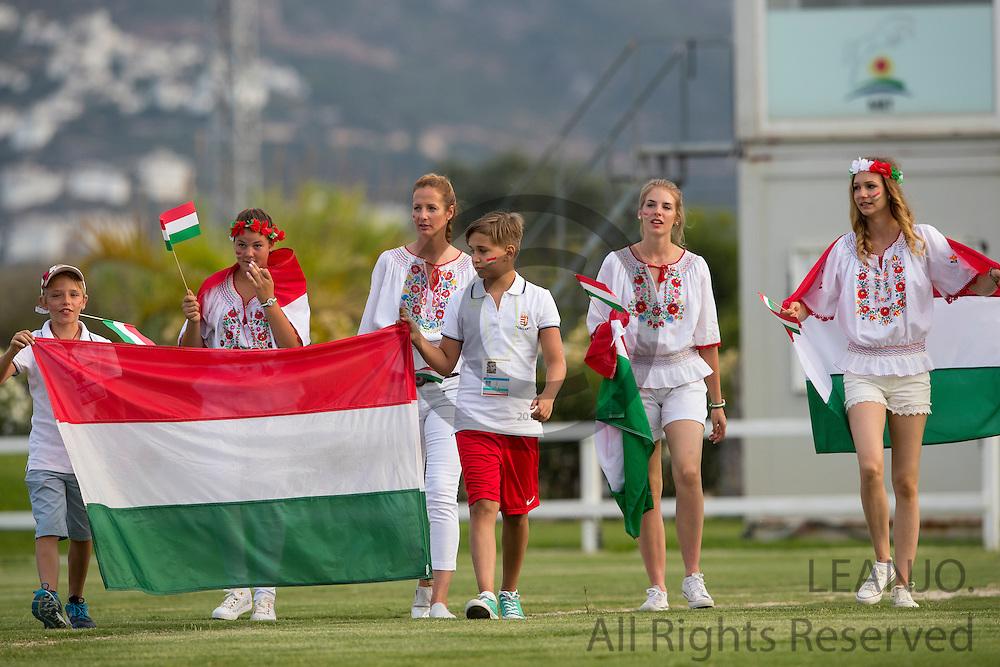 Opening Team Hungary<br /> European Championships Dressage 2016<br /> &copy; DigiShots
