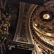 The ceiling and dome of St. Stephen's Cathedral is Austria's most eminent Gothic monument.