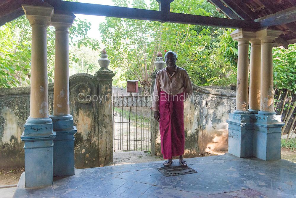 Home near Vaddukoddai. Jaffna. with Anjalendran in January 2014
