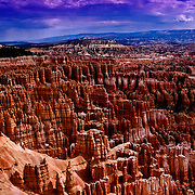 Hoodoos in the Amphitheather, Bryce Canyon, Utah