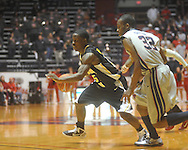 """Southern Mississippi guard R.L. Horton (15) at C.M. """"Tad"""" Smith Coliseum in Oxford, Miss. on Saturday, December 4, 2010."""