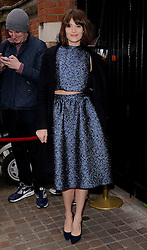 Gemma Arterton attends The Working Title Pre BAFTA VIP Brunch at the Chiltern Firehouse, London on Saturday 7 February 2015