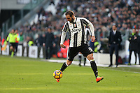can - 22.01.2017 - Torino - Serie A 2016/17 - 21a giornata  -  Juventus-Lazio nella  foto: Gonzalo Higuain