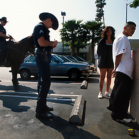 SUNSET BLVD 1998-2001 LAPD  bust