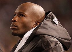 Jan 3, 2010; East Rutherford, NJ, USA; Cincinnati Bengals wide receiver Chad Ochocinco (85) during the first half of their game against the New York Jets at Giants Stadium.