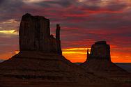 The Mittens, Monument Valley, Arizona (Estados Unidos)