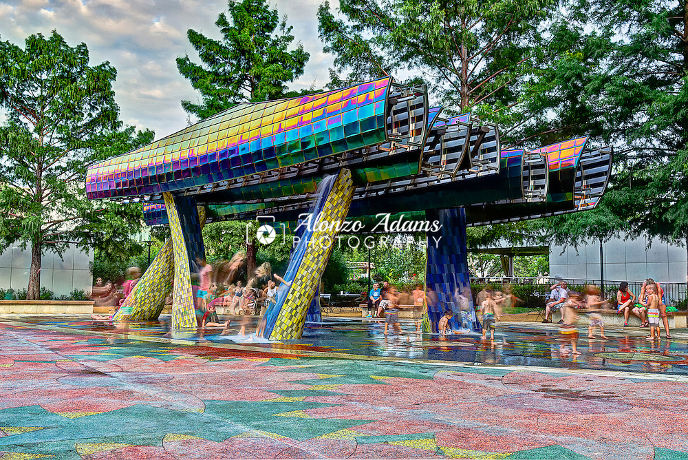 Thunder Fountain Fun Alonzo J Adams Photography