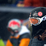 12/20/08 3:27:33 PM -- Breckenridge, CO, U.S.A. -- Snowboarder Shaun White of Carlsbad, Ca. watches some of the competition take their qualifying runs at the inaugural Winter Dew Tour in Breckenridge, Co. on December 20, 2008. White went on to finish second in the event with a score of 93. The four-day competition is the first of three stops on the tour that features freeskiing and snowboarding..(Photo by Marc Piscotty / © 2008)