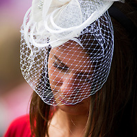 Fans at the Kentucky Derby at Churchill Downs in Louisville, KY on May 04, 2013. (Alex Evers/ Eclipse Sportswire)