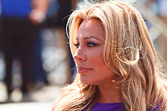 Taylor Dayne Sings US National Athem at the 2012 Toyota Grand Prix of Long Beach