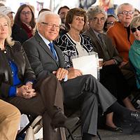 Center for Fine Art ground breaking event, John Kelly photos.