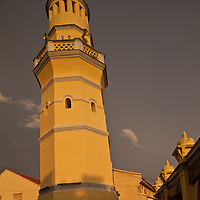 acheen street mosque, george town, penang, malaysia
