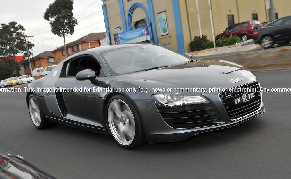 2007 Audi R8 Daytona Grey Supercar Club Drive Day Mornington Peninsula Joel Strickland