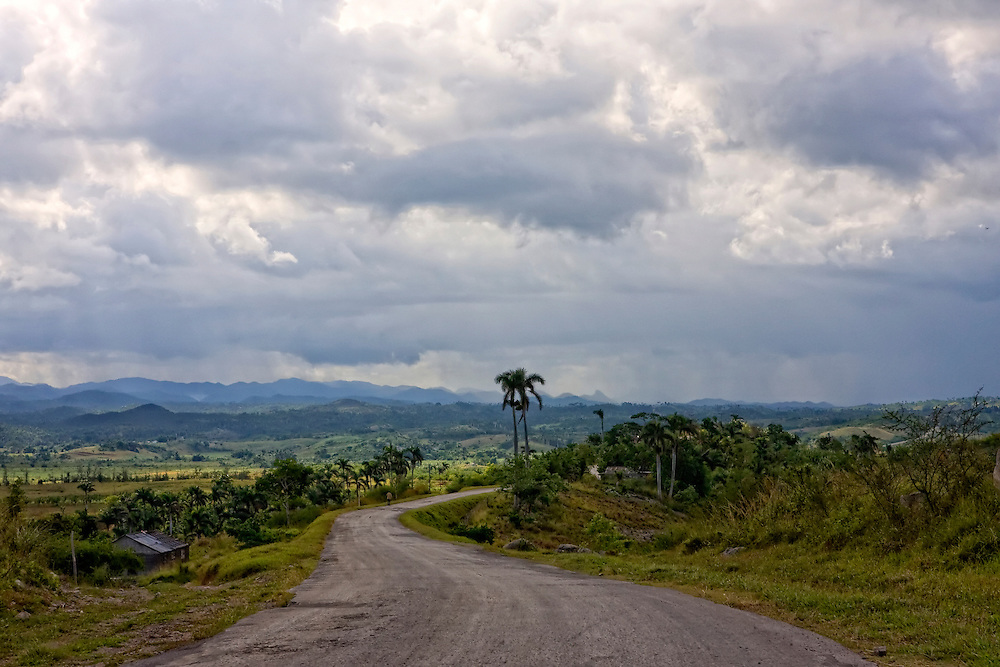 Country road near Cabanas, Artemisa, Cuba.