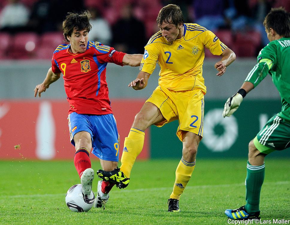 DK Caption:<br /> 20110619, Herning, Danmark.<br /> Fodbold UEFA U21 Euroropamesterskab:<br /> Ukraine-Spanien. Bojan Krkic, Spanien<br /> Foto: Lars M&oslash;ller<br /> <br /> UK Caption:<br /> 20110619, Herning, Denmark.<br /> Football UEFA U21 European Championship:<br /> Ukraine-Spain. Bojan Krkic, Spain.<br /> Photo: Lars Moeller