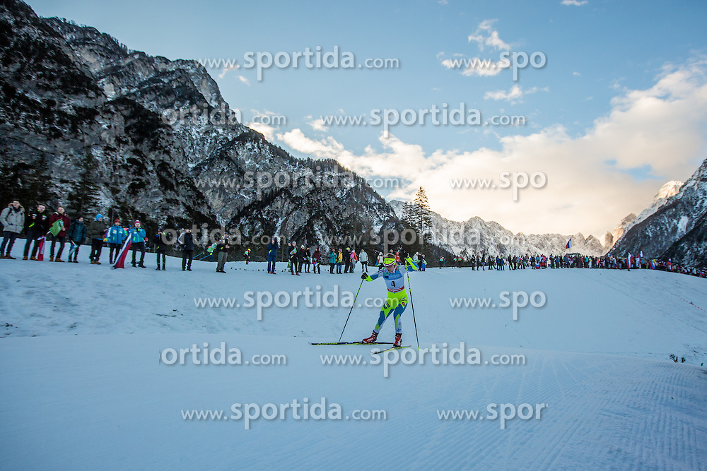 Alenka Cebasek of Slovenia during Ladies 1.2 km Free Sprint Qualification race at FIS Cross Country World Cup Planica 2016, on January 16, 2016 at Planica, Slovenia. Photo By Grega Valancic / Sportida