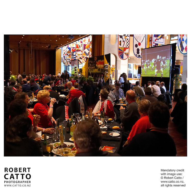 British &amp; Irish Lions v. Wellington Lions Match at the Michael Fowler Centre, Wellington, New Zealand.<br />