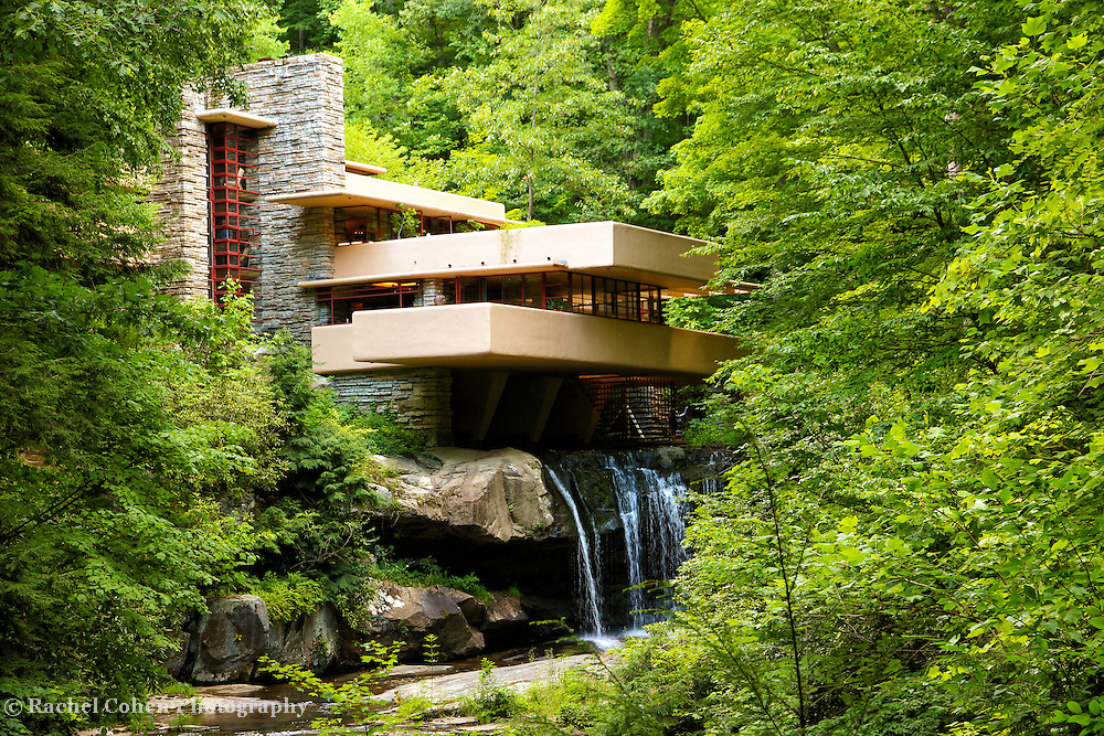 &quot;Dreaming of Fallingwater&quot;<br /> <br /> <br /> Beautiful Fallingwater in the Laurel Highlands of Pennsylvania!!<br /> <br /> Architecture: Structures and buildings by Rachel Cohen