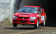 Nicholas Box & Ash Ridden.2012 Australian Rally Championship Rally Calder.Thunderdome, Calder Park Raceway.Calder Park, Melbourne, Victoria.1st-4th March 2012.(C) Joel Strickland Photographics.Use information: This image is intended for Editorial use only (e.g. news or commentary, print or electronic). Any commercial or promotional use requires additional clearance.