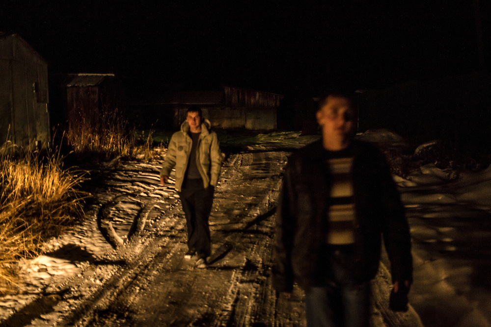 Maxim Makarov, left, and Vadim Kovalenko<br />