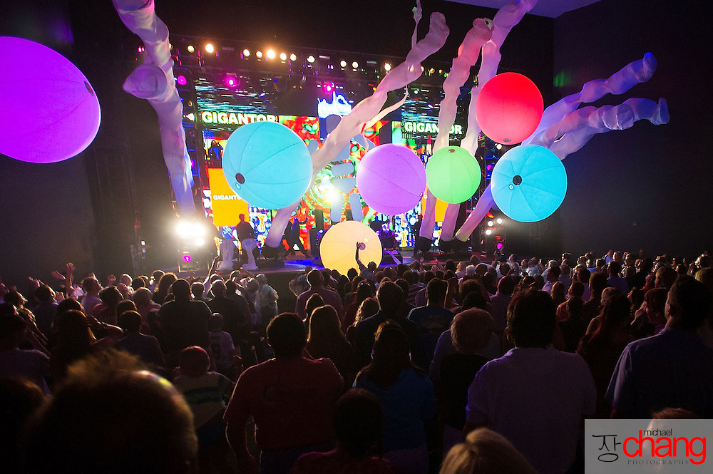 Blue Man Group Performance | Michael Chang Photography