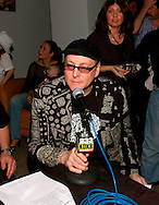 Rick Nielsen of Cheap Trick at Alice Cooper's Christmas Pudding show for his Solid Rock Foundation Charity at Dodge Theatre in Phoenix, Arizona, December 18th 2004. Photo by Chris Walter/Photofeatures.