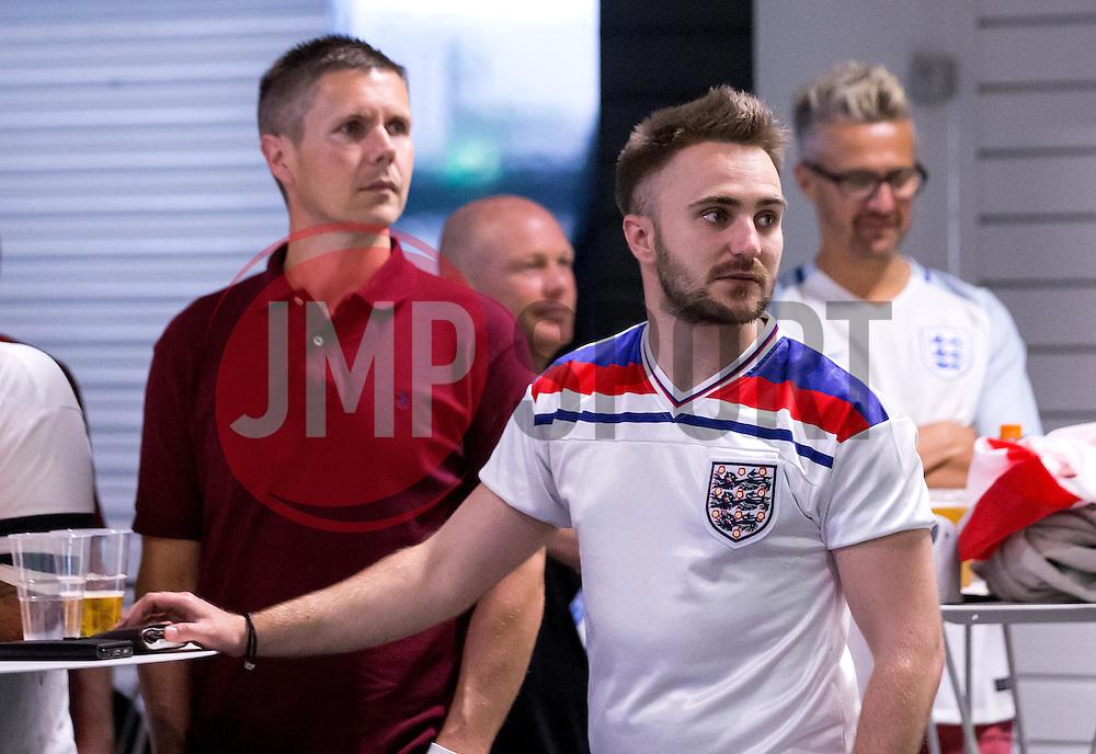 England fans at the Fanzone at Ashton Gate - Mandatory by-line: Robbie Stephenson/JMP - 11/06/2016 - FOOTBALL - Ashton Gate - Bristol, United Kingdom  - England vs Russia - UEFA Euro 2016