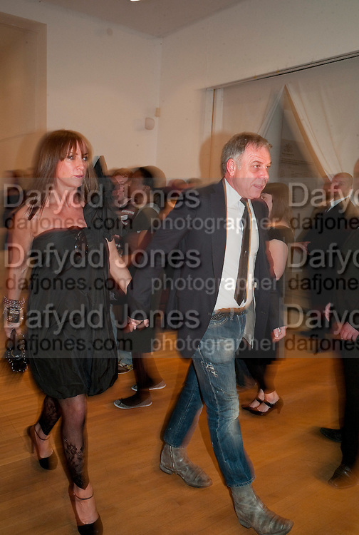 PROF. PETER SIDELL; MEG MATTHEWS, The Royal College of Art Fashion Gala. Kensington Gore. London. 11 June 2009.