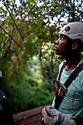 April 2009. Karkloof Canopy Tours, KwaZulu-Natal, Midlands. South Africa