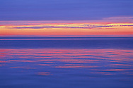 Long Island Sound, Connecticut, New York, , North Fork, sunset afterglow