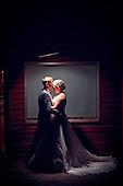 Heather & Artie's, Windy, Wet but beautiful Grey Silo Wedding