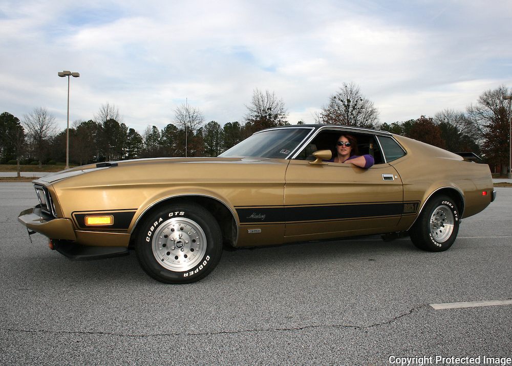 Favorite model in my favorite muscle car a 1973 mach 1 ford mustang